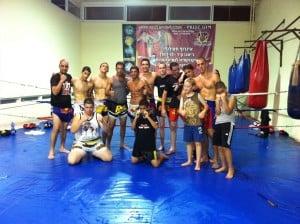 נבחרת איגרוף תאילנדי של רועי הייזלר באשדוד